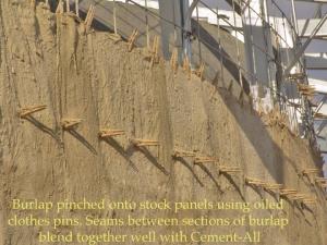 Burlap Crete Explained Sustainable Buildings As Art